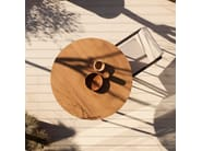 Low Round garden side table VINT   Round coffee table - Bivaq