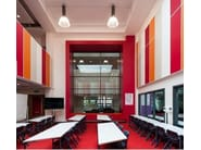 Glass wool decorative acoustical panels Akusto™ Wall A - Saint-Gobain ECOPHON