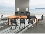 Cantilever Stricktex chair MAGNUM | Stricktex chair - TEAM 7 Natürlich Wohnen