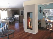Gas Fireplace insert ROMA | Double-sided Fireplace insert - ITALKERO
