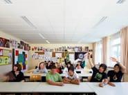 Acoustic glass wool ceiling tiles Ecophon Master™ E - Saint-Gobain ECOPHON