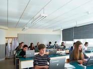 Acoustic glass wool ceiling tiles Ecophon Master™ Rigid E - Saint-Gobain ECOPHON