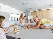 Acoustic glass wool ceiling tiles Ecophon Master™ Rigid Dp - Saint-Gobain ECOPHON