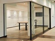 Carbon fibre patio door HORIZON BLACK & LIGHT - Home of Horizon