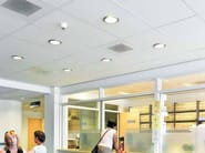 Sound absorbing ceiling tiles for healthcare facilities Ecophon Hygiene Clinic™ E C1 - Saint-Gobain ECOPHON