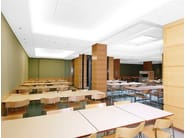 Sound absorbing other materials ceiling tiles Ecophon Light Coffer - Saint-Gobain ECOPHON
