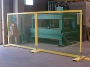 Modular glass-fibre Fence FIBREFENCE | Prefabricated fence - FIBRE NET