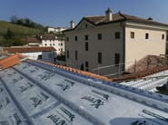 XPS under-tile system XROOF - BRIANZA PLASTICA