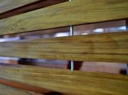 Wooden solar shading HORIZON LINE   Solar shading - Home of Horizon