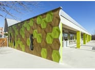 Ventilated facade ULMA CREAKTIVE - KALIKOS INTERNATIONAL