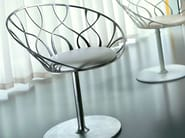 Wrought iron easy chair ROSA - CIACCI