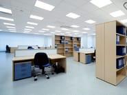 Sound absorbing ceiling tiles STAR TONE SANDED MICRO - ITP