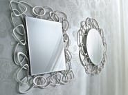 Wall-mounted framed mirror STONES | Wall-mounted mirror - CIACCI