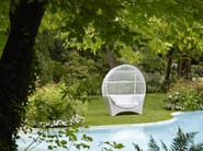 Igloo fabric garden sofa ALTAIR - Samuele Mazza Outdoor Collection by DFN