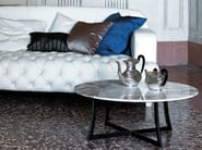 Low round coffee table for living room KING | Low coffee table - CIACCI