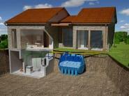 Rainwater recovery system RIUSA PLUS - Redi