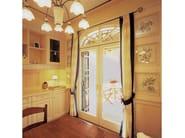 Mahogany patio door EURO 68 | Pocket sliding window - CARMINATI SERRAMENTI