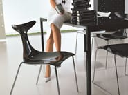 Stackable chair DELFY - CIACCI