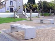 Concrete Bench BLOC CONCRETE   Bench - Factory Street Furniture
