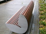 Wooden Bench BOORT | Bench - Factory Street Furniture