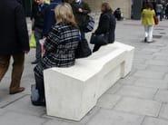 Concrete Bench CAMDEN - Factory Street Furniture