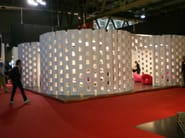 Prefabricated structure Arrangements polystyrene for stand - ELENI