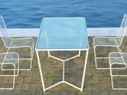 Rectangular garden table GRID | Rectangular garden table - CIACCI