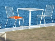Square high table GRID | Square garden table - CIACCI