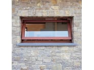 Wooden horizontally pivoted window EURO 68 | Horizontally pivoted window - CARMINATI SERRAMENTI