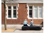 Granite street seating
