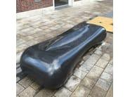 black granite seat