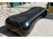 Black granite Flo seat