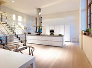 Linear fitted kitchen B1 | Kitchen with island - Bulthaup