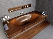 Rectangular bathtub Laguna Basic - aLEGNA - Intercontact