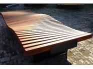 ribbon bench