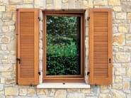 Oak shutter Oak shutter - CARMINATI SERRAMENTI