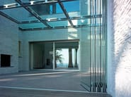 Continuous rooflight Glass rooflight - CARMINATI SERRAMENTI