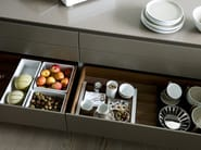 Synthetic material drawers divider / food-storage box B3 INTERIOR SYSTEM | Synthetic material food-storage box - Bulthaup