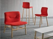 Upholstered fabric easy chair SLOT   Easy chair - GABER