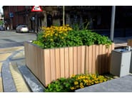 Wooden Flower pot TREE 1500 - Factory Street Furniture
