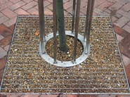 Steel tree guard CIRCULAR - Factory Street Furniture
