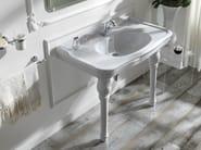 Console washbasin IMPERO | Console washbasin - Olympia Ceramica