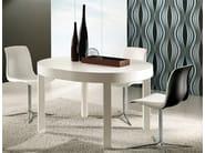 Extending dining table ZED | Extending table - RIFLESSI