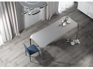 Rectangular kitchen table UNICO - RIFLESSI