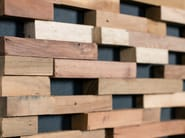 Indoor wooden 3D Wall Cladding SPRINGS - Wonderwall Studios