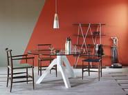 Round glass table KEPLERO | Round table - Miniforms
