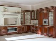 Ash kitchen with handles LUXURY - GD Arredamenti