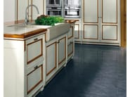Venetian style lacquered linden kitchen FORTUNA - GD Arredamenti