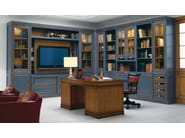 Venetian style solid wood TV wall system LE STANZE DEL DOGE | TV wall system - GD Arredamenti