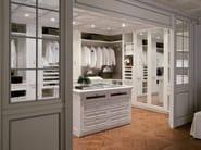 Venetian style solid wood walk-in wardrobe PEGGY - GD Arredamenti